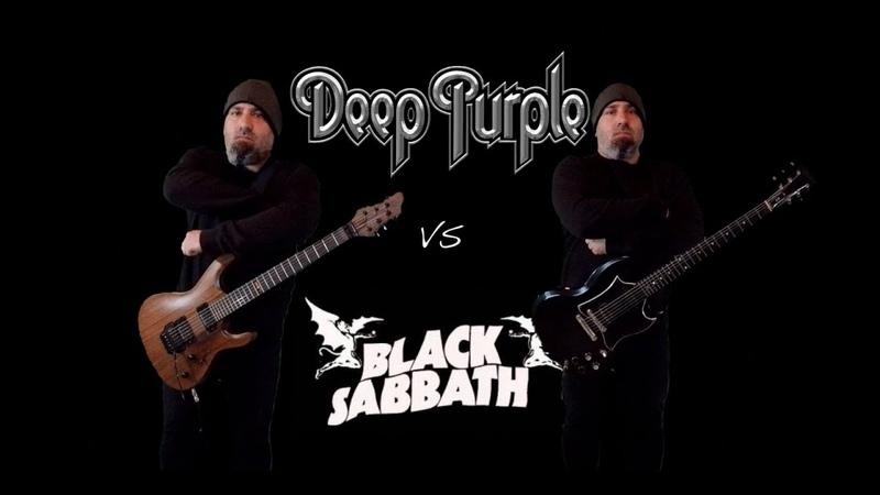 Deep Purple VS Black Sabbath (Guitar Riffs Battle)