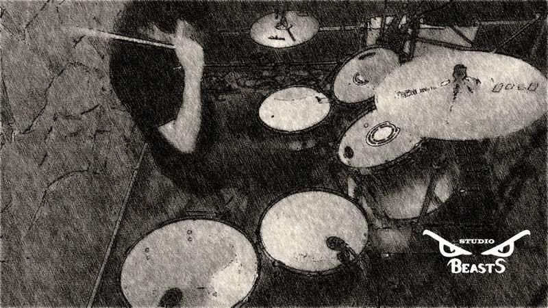 34 - хф Замысел (сессионная запись барабанов на BeastS-studio 8-01-2019)