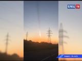 Наделал много шума: в небе над Ельцом пролетел метеорит