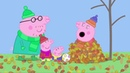 Peppa Pig - Windy Autumn Day english and russian subtitles