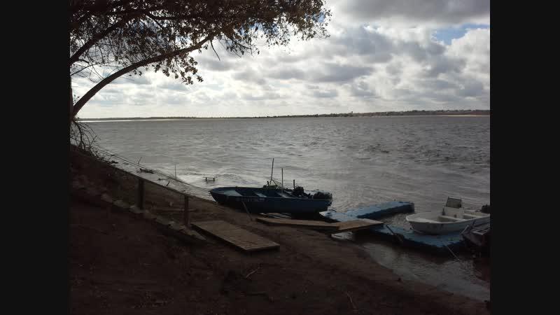 Волга штормит