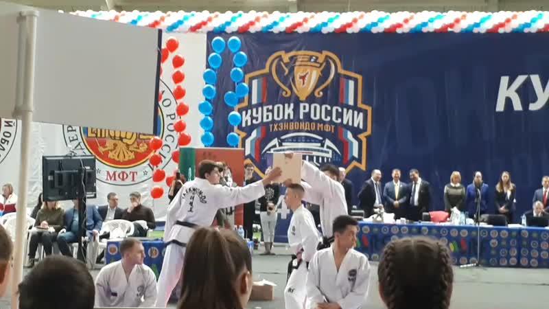 Кубок России по тхэквондо