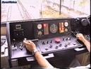 1995.05.30. A GANZ G2 metró fülkéjében a teljes M3 Észak-déli vonalon