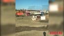 Забастовка рабочих, строящих НПС-23 в поселке Тыгда