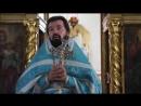 О крестинах младенца Сергия