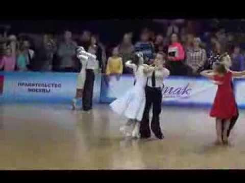 Бальные танцы. Андрианов Илиан, Черных Анна.