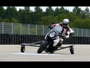 Bosch is testing a gas powered anti slide system for motorcycles