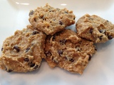 Рецепт полезного печенья из нута с шоколадом и арахисовой пастой. Chickpea Chocolate Chip Peanut Butter Cookie - HASfit Chickpea Cookies - Garbanzo Bean Cookies