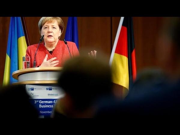 Crise de Kertch : Angela Merkel appelle Kiev à rester avisée