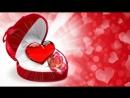 Красивый фон с сердечками. Бесплатно..mp4