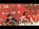 Филипп Киркоров на пресс-конференции фестиваля