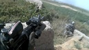 Afghanistan War. Combat Footage - US Soldiers Helmet Cam Firefight During Contact with Taliban