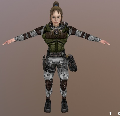 модель девушки by AniDUB_2901