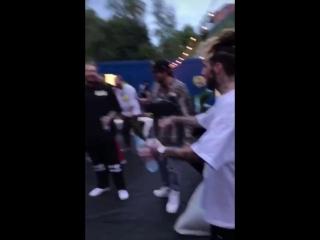 $uicideboy$ meet up with Post Malone [8_17_18] [$UICIDEBOY$]