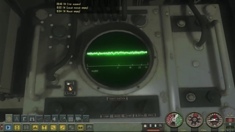 Подводная Лодка Акула ( Typhoon ) в Симуляторе Silent Hunter 4 на пк