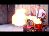 Underseat Flamethrowers-Scooter Pimp #3