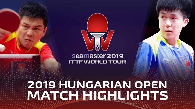 Fan Zhendong vs Wang Chuqin | 2019 ITTF World Tour Hungarian Open Highlights (12)