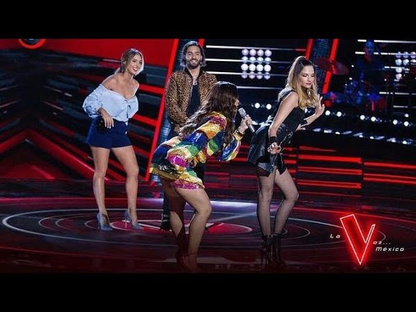 ¿Quién ganará está competencia de baile | La Voz México 2018 | Anitta, Maluma, Carlos Rivera...