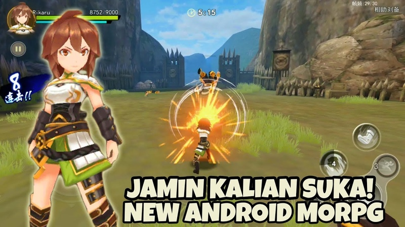 OMG RPG BARU!! KING's BATTLE Android Gameplay ( MMO RPG game )