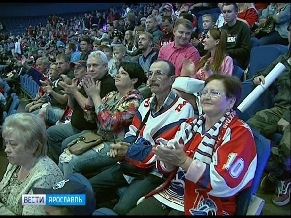 Ярославский «Локомотив» провел встречу с болельщиками