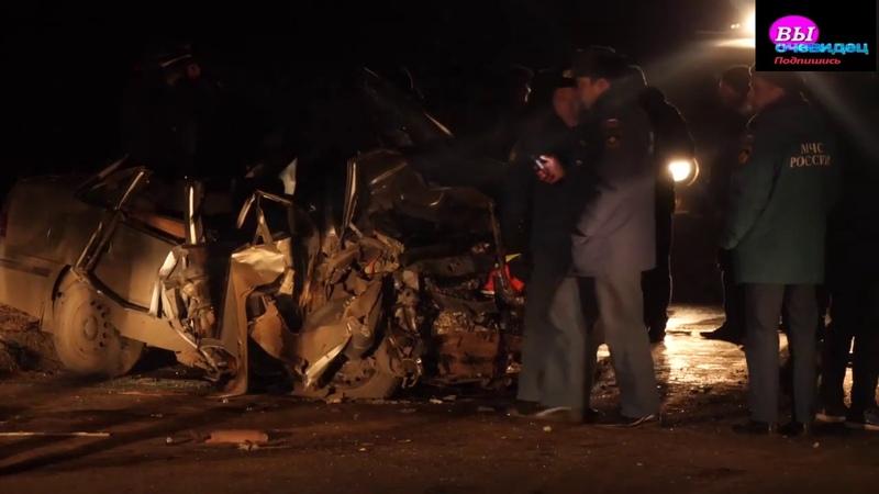 Жуткая авария произошла в городке Троицке Челябинской области