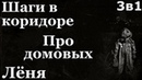 Истории на ночь (3в1): 1.Шаги в коридоре, 2.Про домовых, 3.Лёня