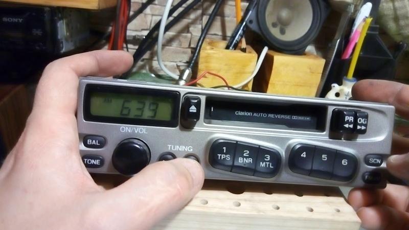 Автомагнитола Clarion PF 1518A C штатная магнитола с subaru