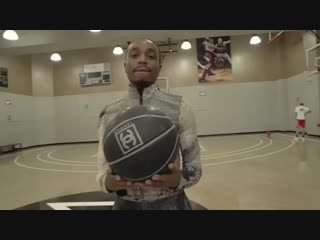 Quavo shows off his range with a Chanel basketball