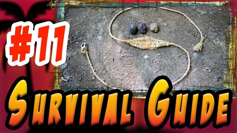 ПРАЩА. Древнее ручное оружие для метания камней своими руками. V_01_Ser_11