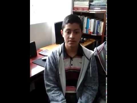 Student2 Access Microscholarship program Instituto Chileno Norteamericano de Cultura Chillán Chile