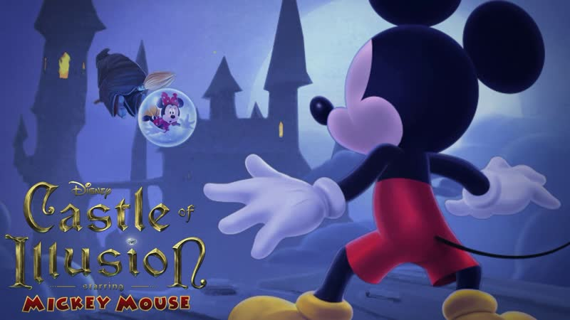 Castle of Illusion Starring Mickey Mouse Gameplay - Full Game Episodes - Disney Cartoon Game - (aneka.scriptscraft.com) 720p