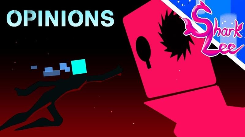 Sharklee's animation meme Opinions feat Just Shape Beat