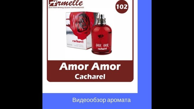 Видеообзор духов эквивалента Кашкарель Амор Амор №102