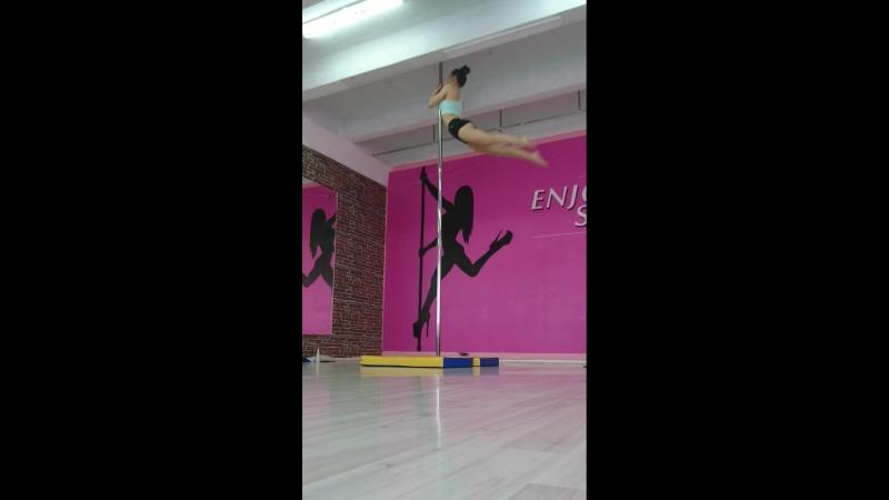 Обрыв pole dance ♥️ 🤸♀️ 💪 ♥️