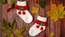 Детские носочки крючком | Как связать носочки для детей