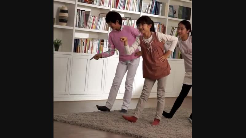 Детское видео Джункю для рекламы