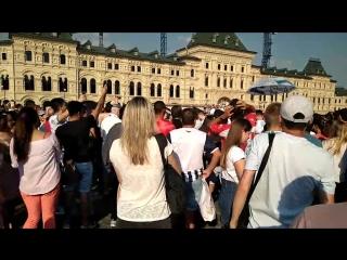 Жара на Красной Площади