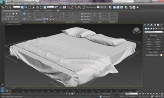 3ds Max Tutorial Realistic Interiors with Marvelous Designer Bedsheet,Pillow & Blanket Part 1