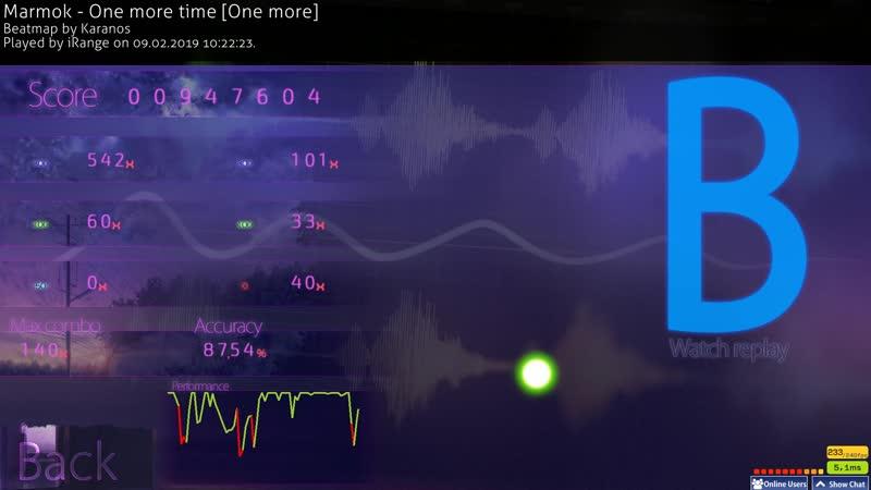 Marmok - One More Time | osu! *6,12