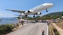 SKIATHOS 2018 - LOW LANDINGS, HARD TOUCHDOWNS and JETBLASTS - Boeing 737, B757, Airbus A321 ... (4K)