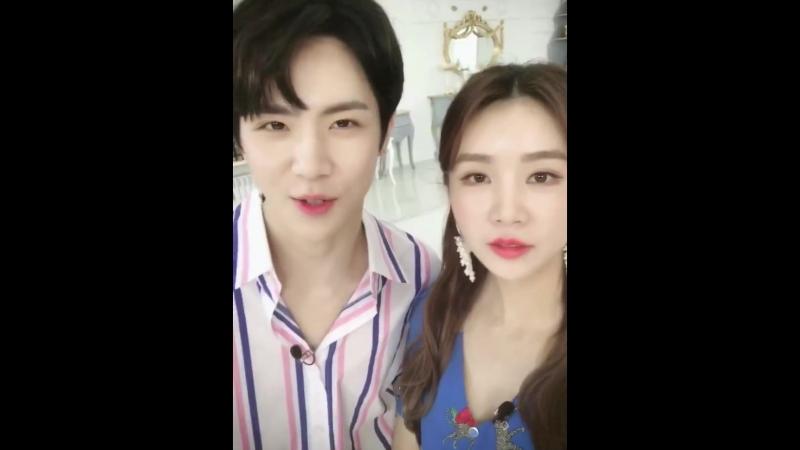 16.06.18 Weibo Чао Лу(FIESTAR)