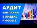Аудит рекламной кампании Яндекс Директ. Аудит Google Adwords. Аудит контекстной рекламы
