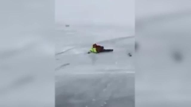 Snowkiting Сибирский серфинг