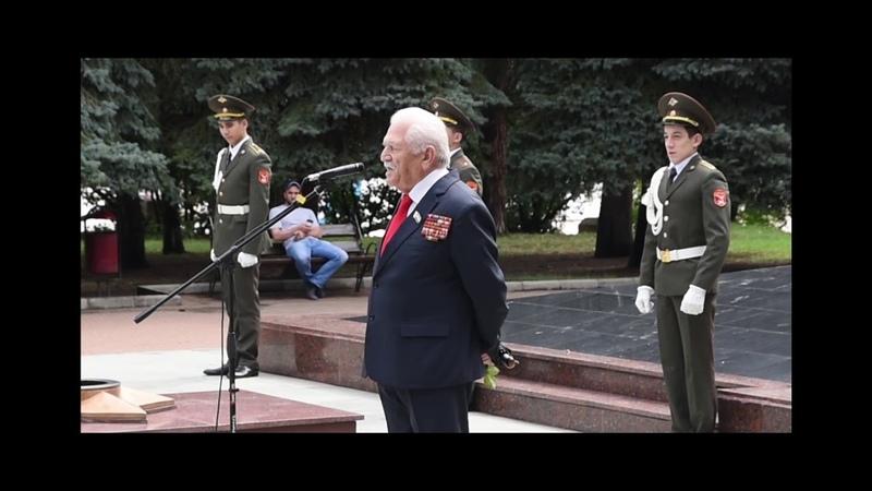 Гуманитарный Автопробег НОД Победа2018 в Нальчике...(2)