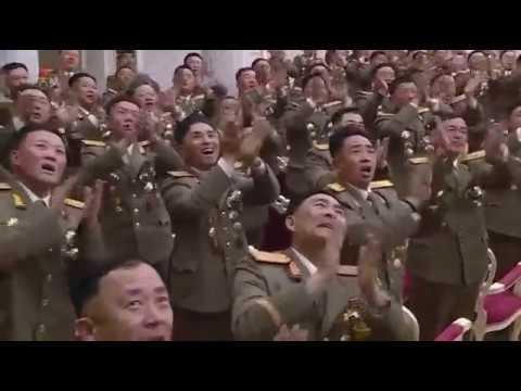 경애하는 최고령도자 김정은동지께서 건군절에 즈음하여 조선인민군 전체