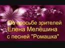 Елена Мелёшина с песней Ромашка