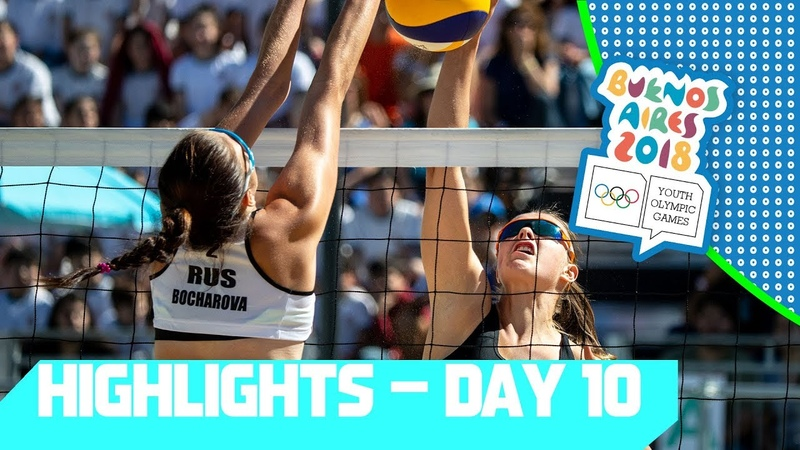 Gold Medals matches are decided in Futsal Beach Volleyball! | YOG 2018 Day 10 | Top Moments