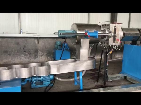 SJ175 single extruder pelletizing line