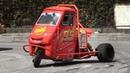 CRAZY Ape Car Proto w/ Honda 600cc Engine - Loris Rosati SHOW OnBoard!