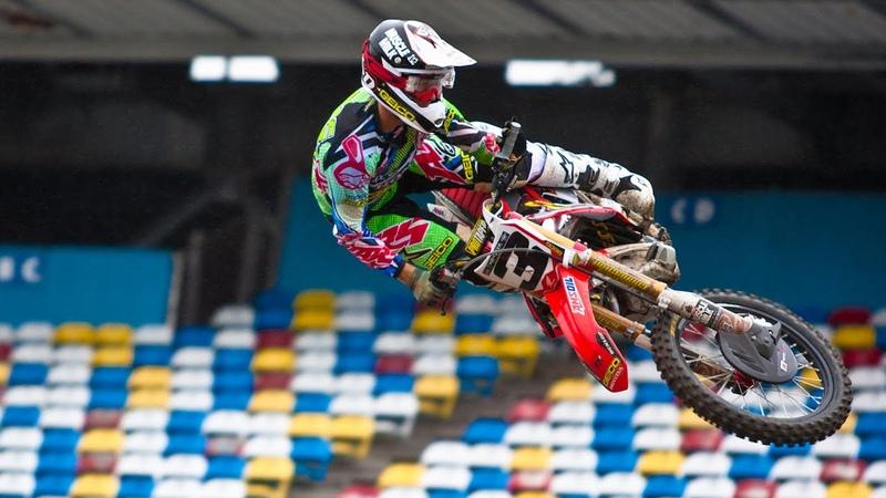 Daytona Supercross - Friday Media Day Riding Highlights | Roczen / Tomac / Canard / Seely (MXPTV)